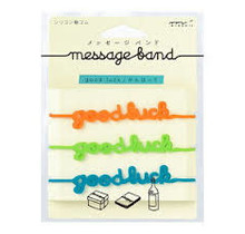 MESSAGE BAND GOOD LUCK