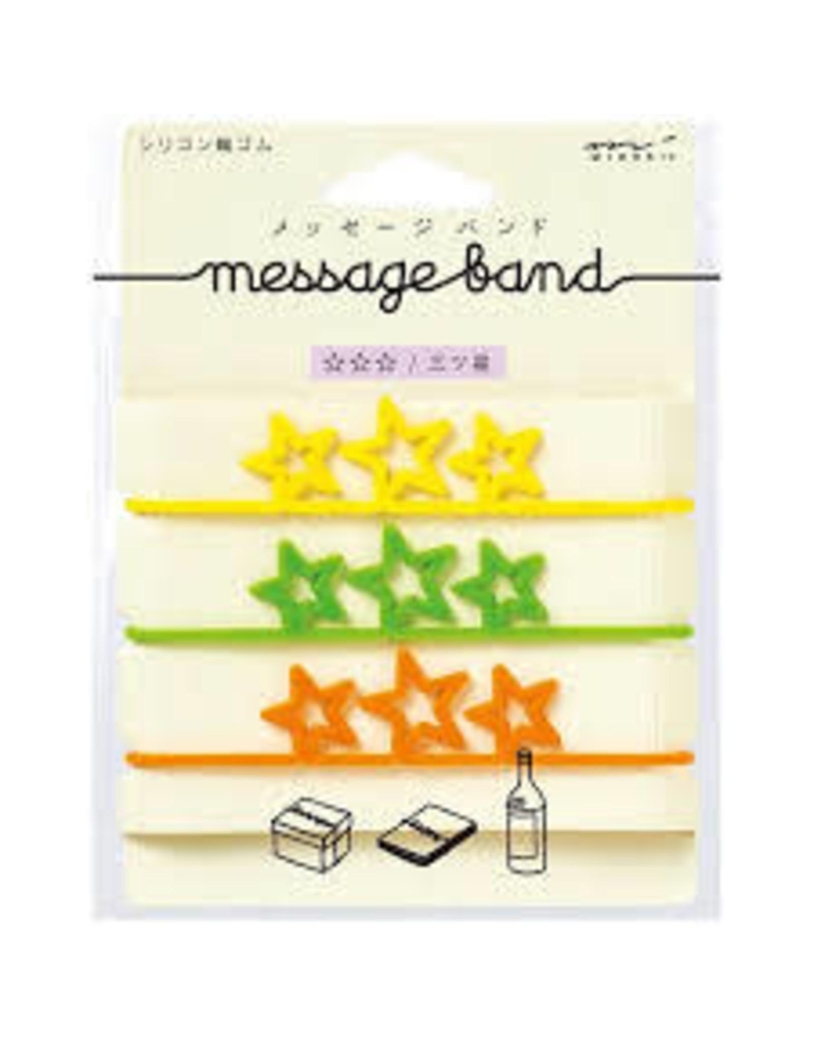 Designphil Inc. MESSAGE BAND THREE TRIPLE-STAR