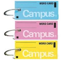 KOKUYO - CAMPUS WORD CARD SET OF 5 ASSORTED
