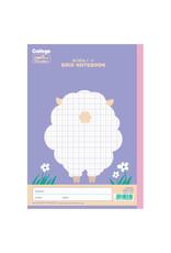 Kyokuto Associates co., ltd. KYOKUTO  GRID NOTEBOOK - SHEEP LT01PU
