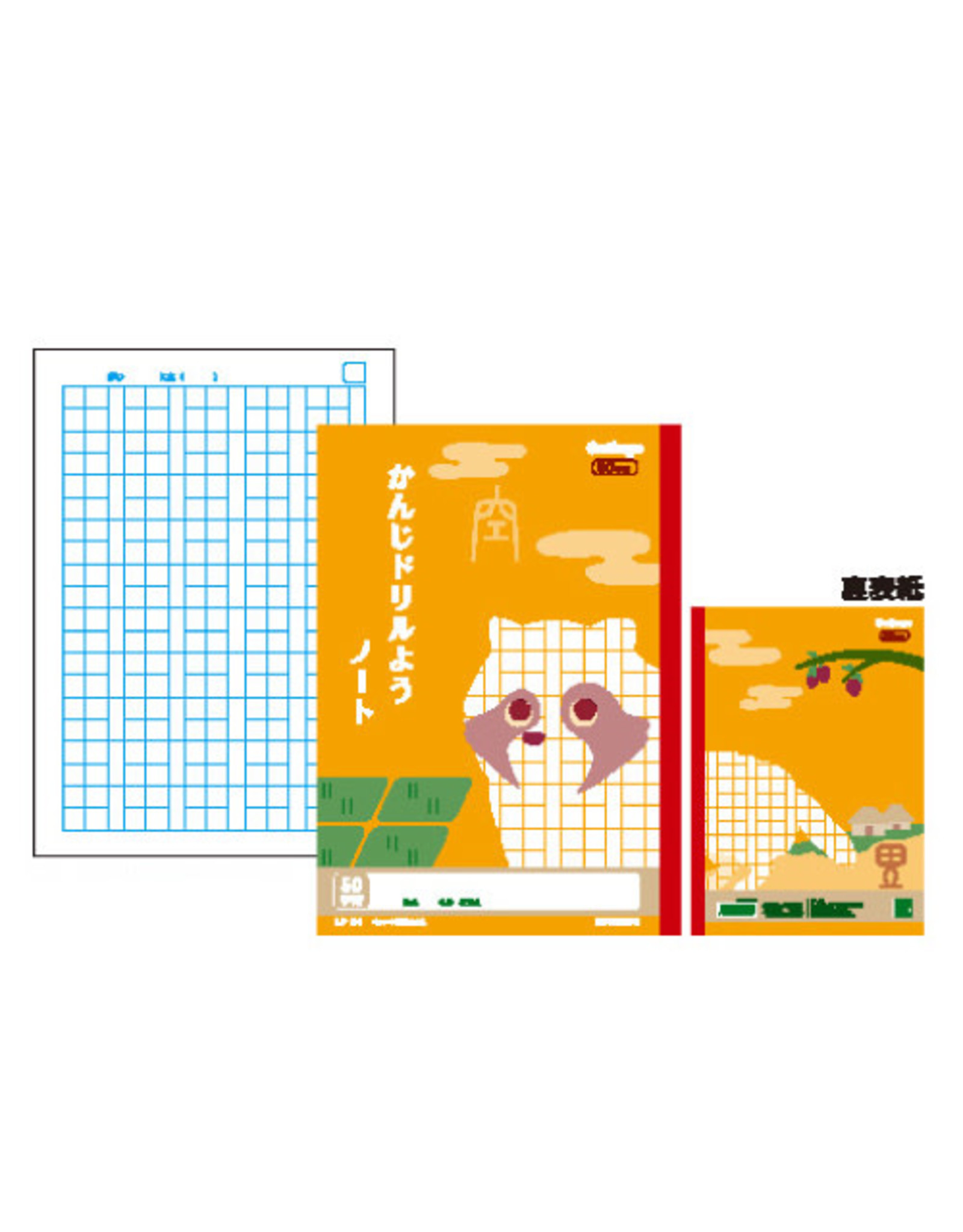 Kyokuto Associates co., ltd. COLLEGE ANIMAL DRILL NOTEBOOK KANJI 50 JI