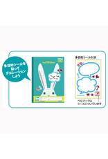 Kyokuto Associates co., ltd. KYOKUTO  GRID NOTEBOOK - RABBIT LT01SB