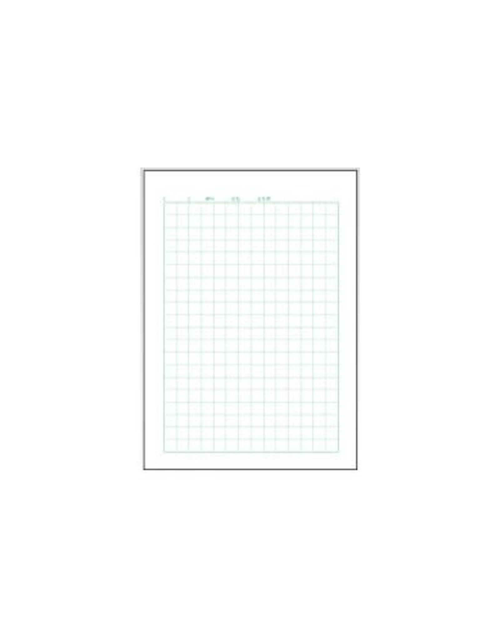 APICA Co., Ltd. APICA TOKAI GRAPHIC STUDY NOTEBOOK JAPANESE 10 SQUARES WITH SUPPORT LINES
