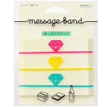 Designphil Inc. 62318006 MESSAGE BAND DIAMOND