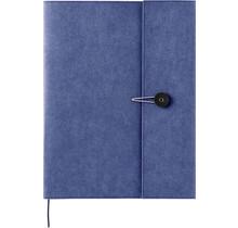 KING JIM CO., LTD. - KRAFT PLASTIC FILE HOLDER COVER A4 NAVY