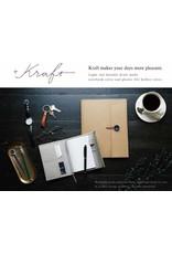 KING JIM CO., LTD. KRAFT PLASTIC FILE HOLDER COVER A4 BEIGE
