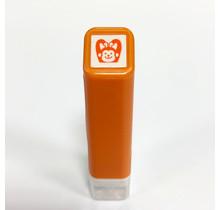 Kodomo No Kao 0556-596 SCHEDULE SELF-INKING STAMP 596 MONKEY