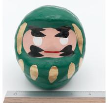 Sagawa Daruma Seizousho Fusui Daruma Azuki Midori FUSUI DARUMA - AZUKI GREEN