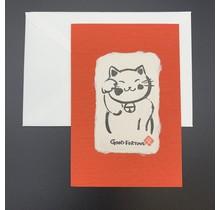 HYOGENSHA - KANJI CARD GOOD FORTUNE