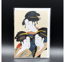 Ezen Designs - GREETING CARD THREE BEAUTIES OF THE PRESENT DAY
