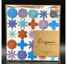 Designphil Inc. 34454006 ORIGAMI WATERCOLOR FLOWER BLUE