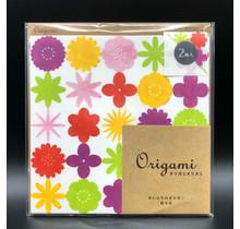 Designphil Inc. - ORIGAMI WATERCOLOR FLOWER RED