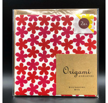 ORIGAMI FLOWER RED/YELLOW
