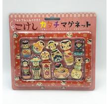 KUROCHIKU 71406905 KOKESHI KATACHI MAGNET