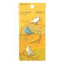 Designphil Inc. 49756-006 MINI MAGNETS BIRD