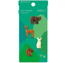 MINI MAGNETS FOREST ANIMALS