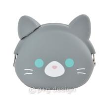 PG Design Inc. - MIMI POCHI FRIENDS GRAY CAT