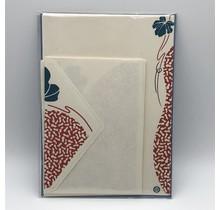NIHONBASHI IBASEN - LETTER SET HYOTAN RED&BLUE