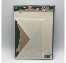 NIHONBASHI IBASEN EDOOSA LETTER SET AUTUMN/ACER GREEN&BEIGE