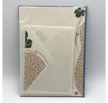 NIHONBASHI IBASEN - LETTER SET HYOTAN  GREEN&YELLOW