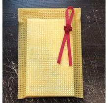 JPT - JAPANESE WASHI PAPER WRAPPING BAG ORANGE (S)