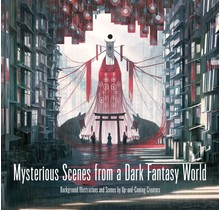PIE INTERNATIONAL - Mysterious Scenes from a Dark Fantasy World Background Illustrations and Scenes by Up-and-Coming Creators