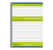 APICA Co., Ltd. - ENGLISH PENMANSHIP 13 LINES 30 SHEETS SEMI B5