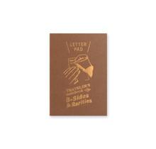 TRAVELER'S NOTEBOOK PASSPORT SIZE REFILL LETTER PAD