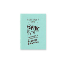 TRAVELER'S NOTEBOOK PASSPORT SIZE REFILL MESSAGE CARD