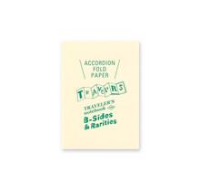 TRAVELER'S NOTEBOOK PASSPORT SIZE REFILL ACCORDION FOLD PAPER
