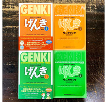 *SET* GENKI (1)&(2) 3RD EDITION - TEXTBOOK, WORKBOOK