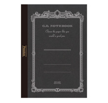 APICA Co., Ltd. - PREMIUM CD NOTEBOOK A5 BLANK 96PAGES BLACK