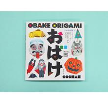 NEW ORICA 1 - ORIGAMI CARD BOOK - OBAKE ORIGAMI