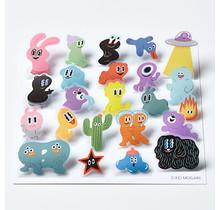 POP007 POP-UP STICKERS  ALIEN