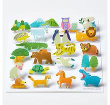 POP003 POP-UP STICKERS  ANIMAL