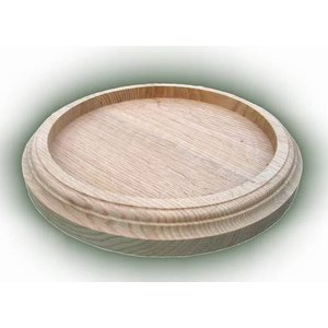 Postament board (milled) - oval