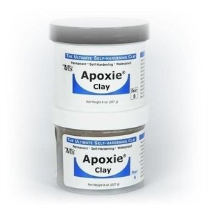 Aves Apoxie Clay component A + B, color white