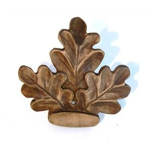 Keiler ornament uit Lindenhout