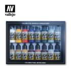Model Air airbrush paint - Starter set 16 colors (71.178)