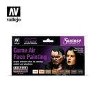 Game Air airbrush paint - Set skin color - flesh (72.865)