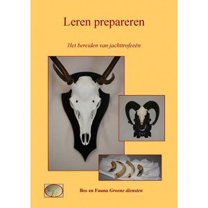 The preparation of hunting trophies