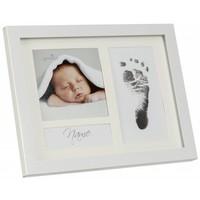 First Steps Footprint Metallrahmen mit Magic Footprint Abdruckset
