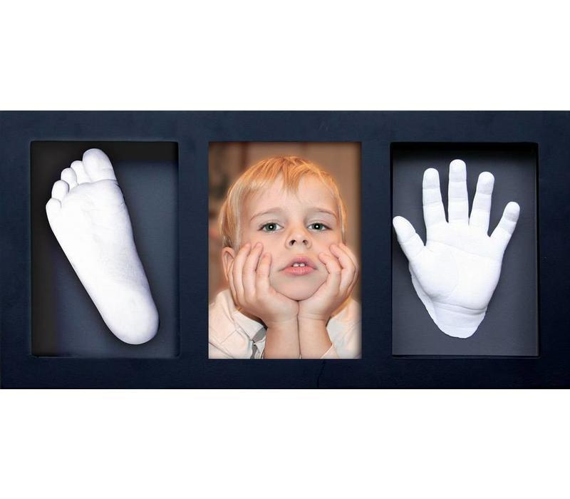 """Kit d'empreinte """"Mémoires 3D"""" avec cadre photo"""