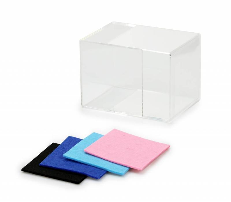 Lucky Hands® Cubi di vetro acrilico