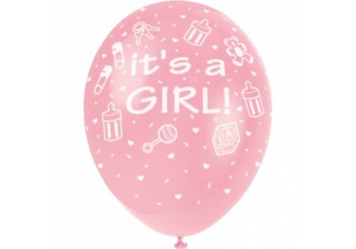 "Palloncino ""It's a Girl"""