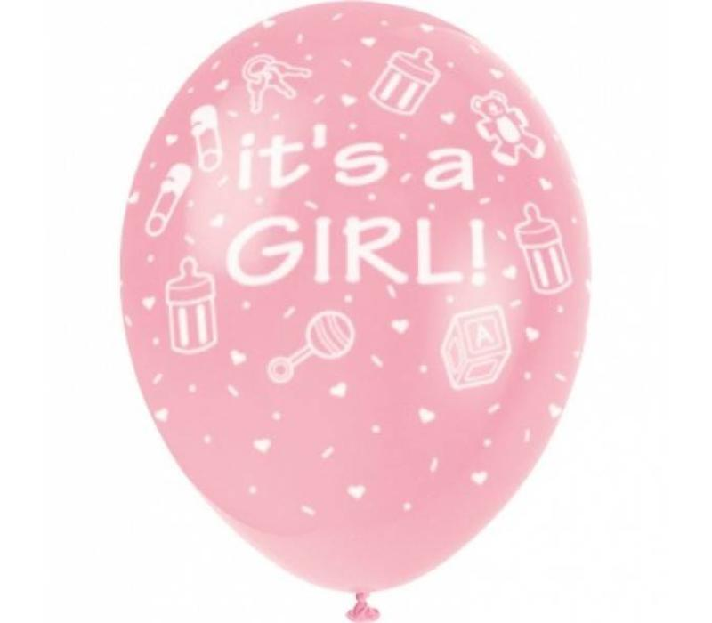 "ballon ""It's a Girl"""