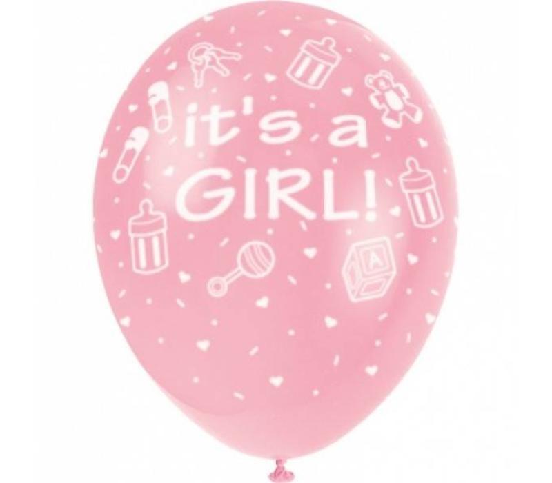 """Globo """"It's a Girl"""""""