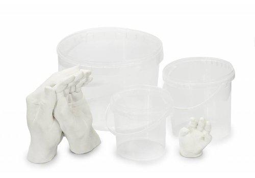 Lucky Hands® Abformbehälter und Abformbecher-Sets für Hand & Fußabdrücke