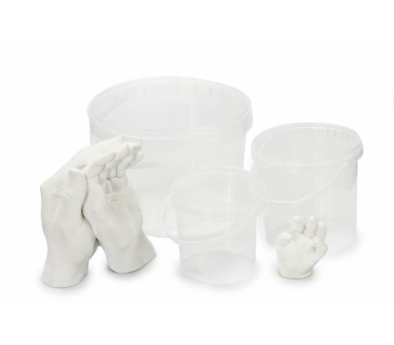 Abformbehälter und Abformbecher-Sets für Hand & Fußabdrücke