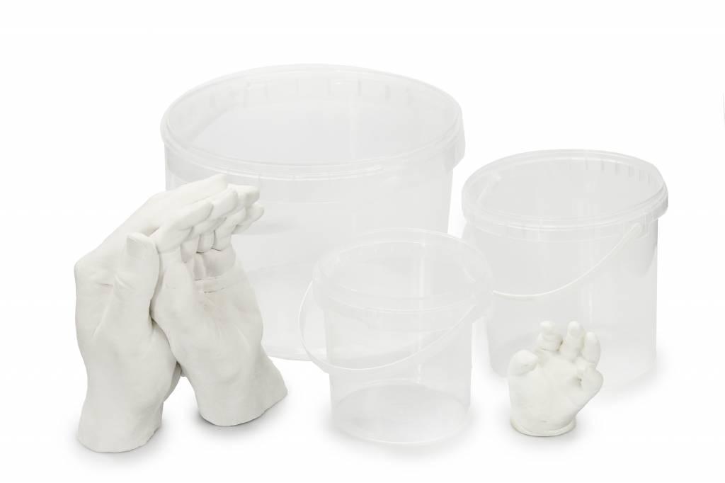 Neonati E Bambini Da 7 A 48 Mesi ... Lucky Hands® Kit Per Bambino Impronte 3d